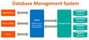 What are the types of database management system (DBMS)?
